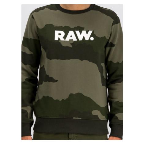 G-Star RAW Bluza D15172-B531-A695 Zielony Regular Fit