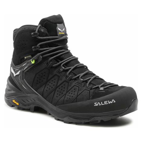 Trekkingi SALEWA - Ms Alp Trainer 2 Mid Gtx GORE-TEX 61382-0971 Black/Black 0971
