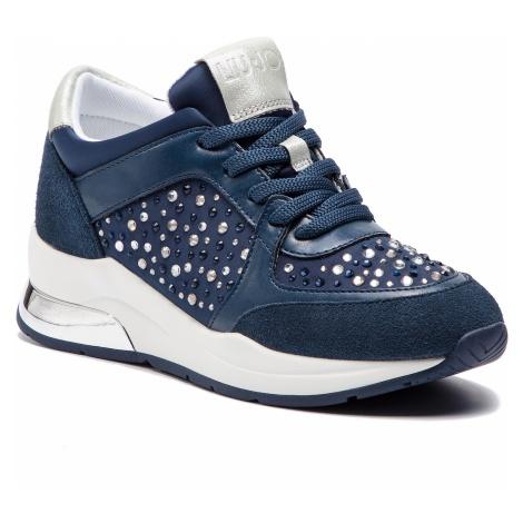Sneakersy LIU JO - Karlie 12 B19007 TX003 Navy S1105