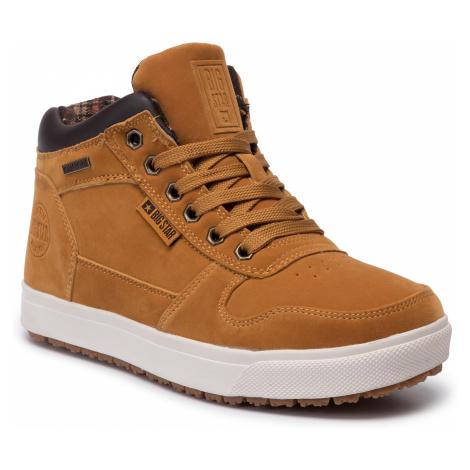 Sneakersy BIG STAR - EE274168 Camel