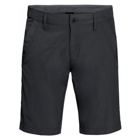 JACK WOLFSKIN Spodnie outdoor 'Desert Valley' antracytowy