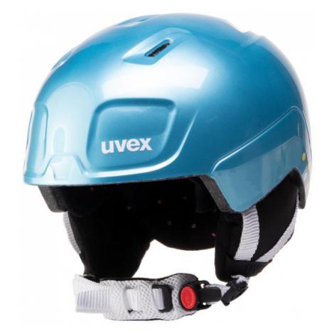 Uvex Kask narciarski Heyya S5662525003 Niebieski