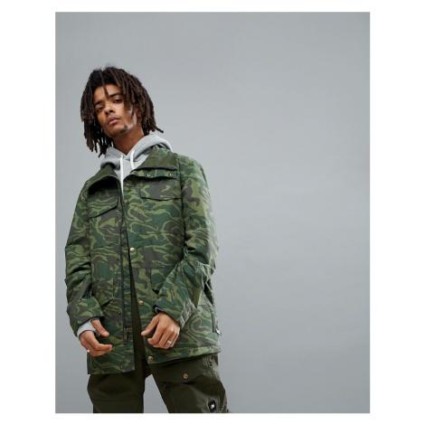 Analog Tollgate Ski Jacket in Green Camo
