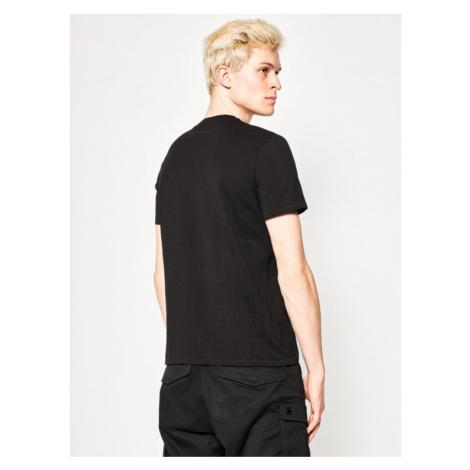 Just Cavalli T-Shirt S01GC0612 Czarny Regular Fit