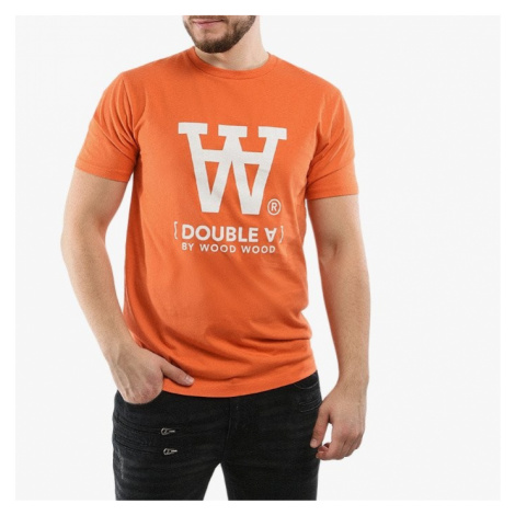 Koszulka męska Wood Wood Ace Double A 10915705-2222 Orange