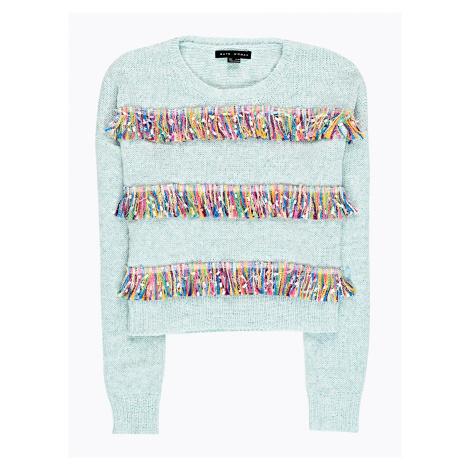 GATE Krótki sweter z kolorowymi frędzlami