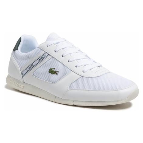 Sneakersy LACOSTE - Menerva Sport 0721 1 Cma 7-41CMA00051R5 Wht/Dk Grn