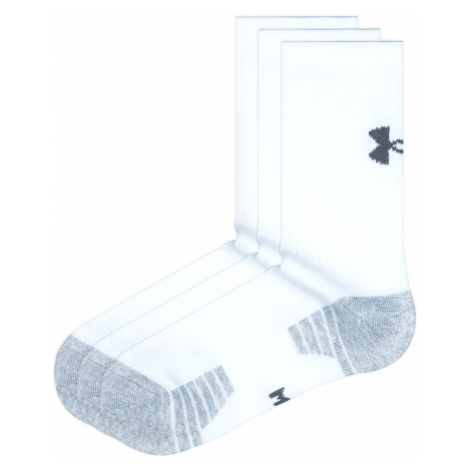 Under Armour HeatGear® 3-pack Skarpetki Biały