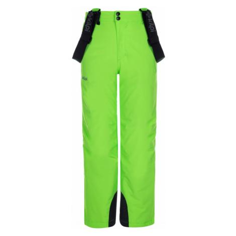 Chłopięce spodnie narciarskie Methone-jb green - Kilpi