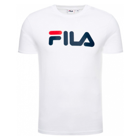 Fila T-Shirt Unisex 681093 Biały Regular Fit