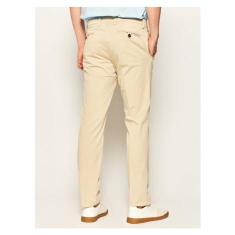 Digel Spodnie materiałowe Lago-G 88142 Beżowy Slim Fit