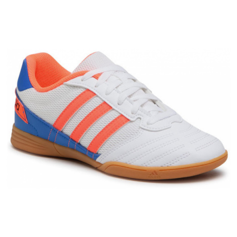 Adidas Buty Super Sala J FV2633 Biały