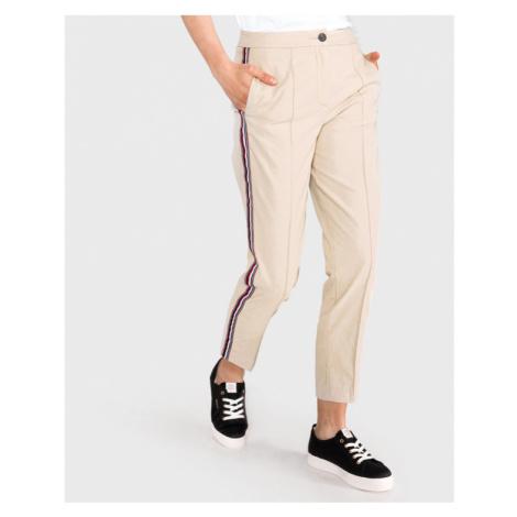 Tommy Hilfiger Spodnie Beżowy