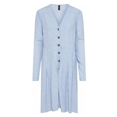 Y.A.S Sukienka jasnoniebieski / biały