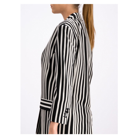 The Kooples Żakiet The Crazy Stripes FVES18040K Kolorowy Regular Fit