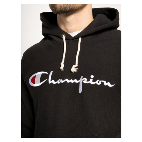 Champion Bluza Reverse Weave 212574 Czarny Regular Fit