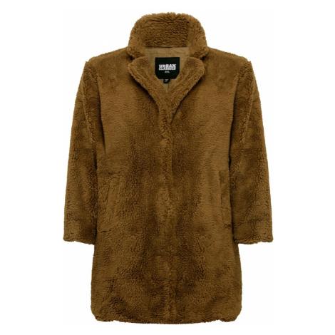 Urban Classics Płaszcz przejściowy brązowy