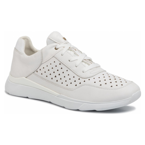 Sneakersy GEOX - D Hiver B D02FHB 08554 C1000 White