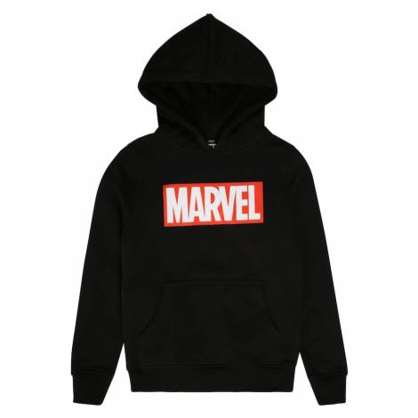 Mister Tee Bluza 'Marvel' czerwony / czarny / biały