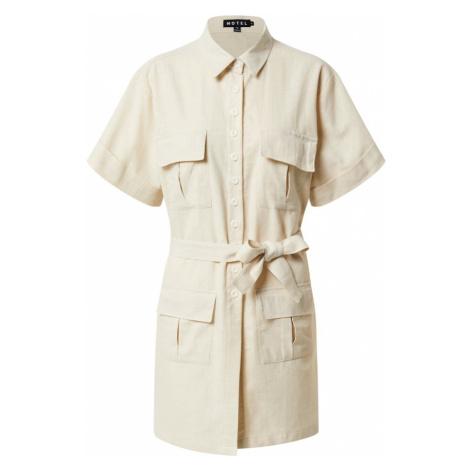 Motel Sukienka koszulowa 'Denaya' piaskowy