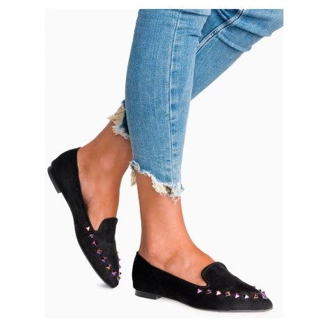 Larica Women's lords with studs LR349 black