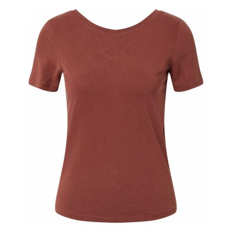 ONLY Koszulka 'ONLFREE LIFE' brązowy