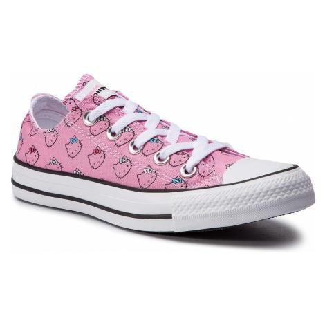 Trampki CONVERSE - Ctas Ox Prism Pink 164631C Prism Pink/White/W