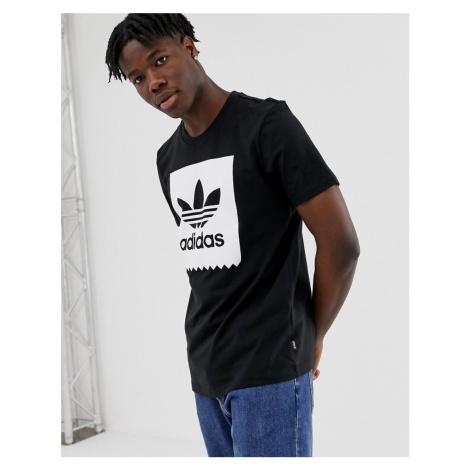 Adidas Skateboarding Box Logo T-Shirt Black