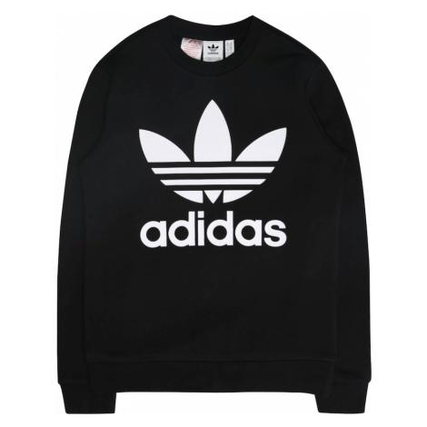 ADIDAS ORIGINALS Sweter 'CREW' czarny / biały