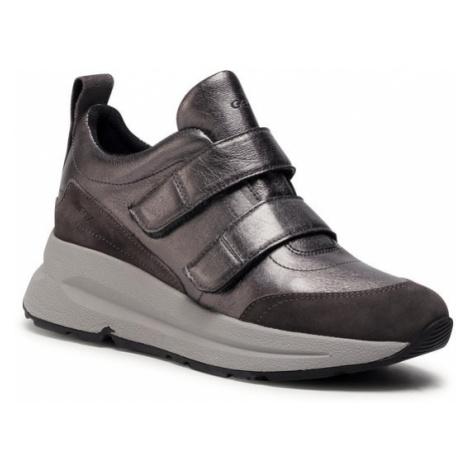 Geox Sneakersy D Backsie D D04FLD 0Y222 C9002 Srebrny