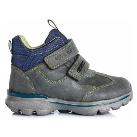 D-D-step Chłopięce buty zimowe 34 szary D.D.step