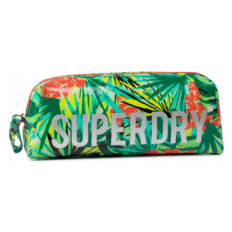Superdry Piórnik Jelly Pencil Case W9810025A Zielony