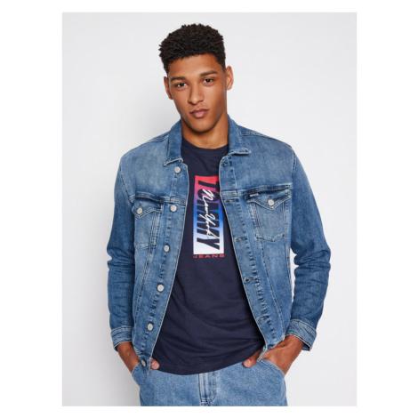 Tommy Jeans Kurtka jeansowa Trucker DM0DM10297 Niebieski Regular Fit Tommy Hilfiger