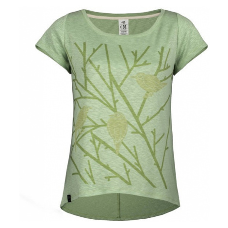 T-shirt Damski z organicznej bawełny | Zielony Aves Oro Woox
