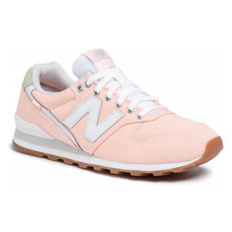New Balance Sneakersy WL996WCA Pomarańczowy