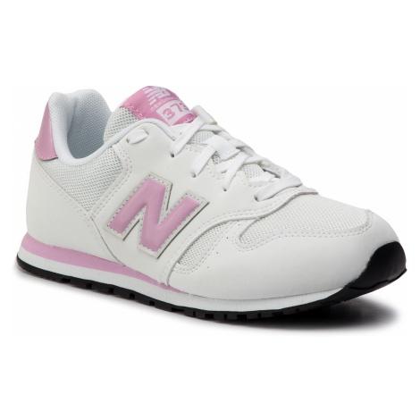 Sneakersy NEW BALANCE - YC373BT Biały