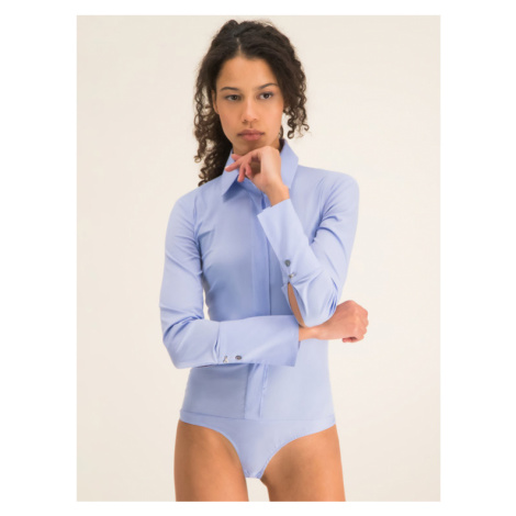 Patrizia Pepe Body CC0355/A01-C268 Niebieski Slim Fit