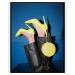 Żółte szpilki damskie