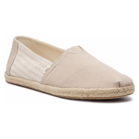 Espadryle TOMS - Classic 10013560 Oxford Tan Ivy League