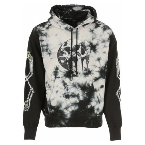 Diesel Sweter dla Mężczyzn Na Wyprzedaży, czarny, Bawełna, 2019