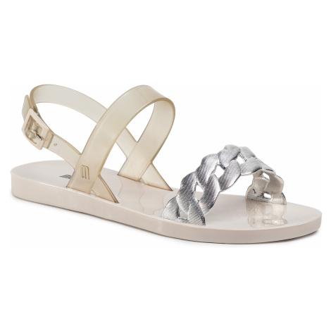 Sandały MELISSA - Lip II Ad 32729 Beige/Silver 52009