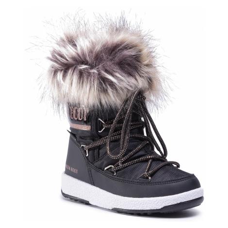 Śniegowce MOON BOOT - Mb Jr Girl Monaco Low Wp 34052400002 M BlackCopper