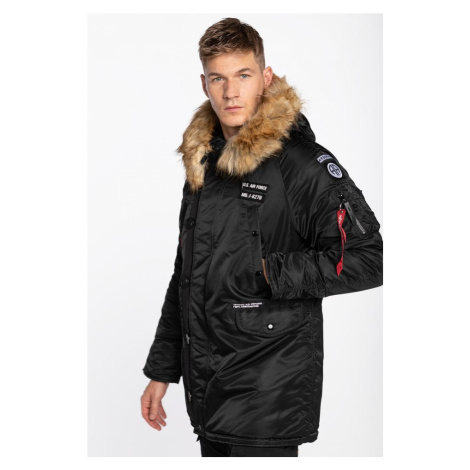 Kurtka Alpha Industries N3B Airborne 141 Black