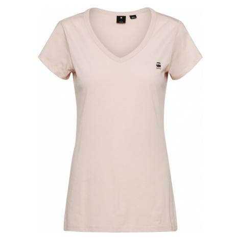 G-Star RAW Koszulka 'Eyben' różowy pudrowy