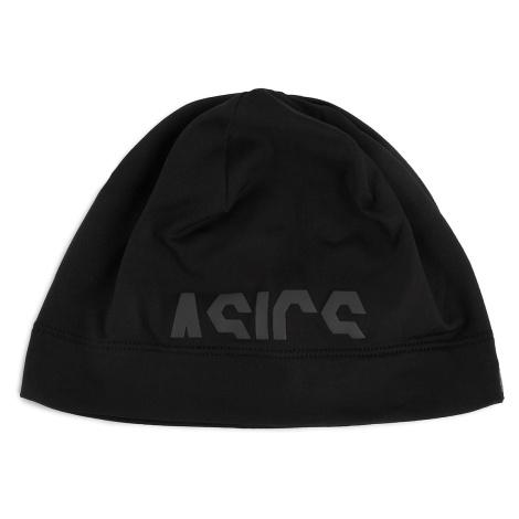Czapka ASICS - Logo Beanie 3013A034 Black Performance 001