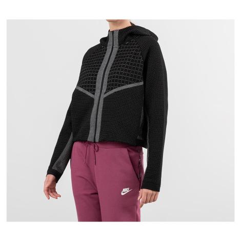 Nike Sportswear City Ready Tech Fleece Eng Fullzip Hoodie Black/ White