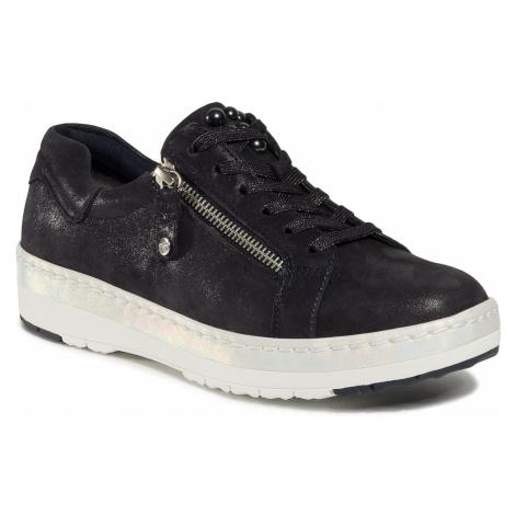 Sneakersy TAMARIS - 1-23711-24 Navry Pearl 877