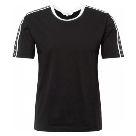 Calvin Klein Jeans Koszulka 'MONOGRAM TAPE REG SS TEE' czarny