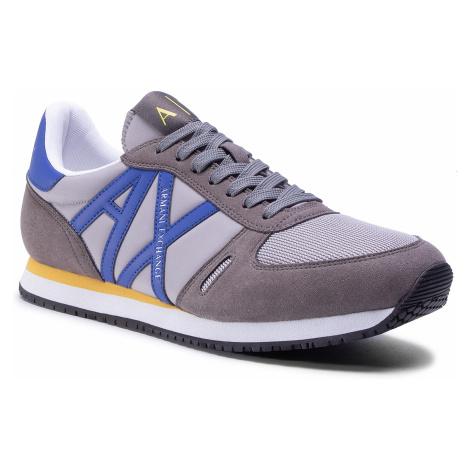 Sneakersy ARMANI EXCHANGE - XUX017 XCC68 K497 Dark Grey/L.Blue