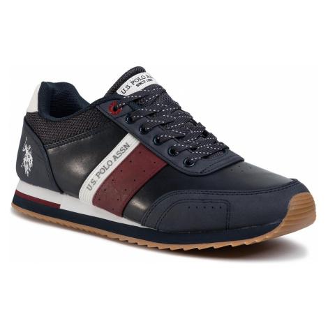 Sneakersy U.S. POLO ASSN. - Jason 8055197152478 Dbkl/Red
